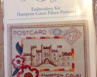 Bluebird Embroidery Kit Hampton Court Palace Postcard