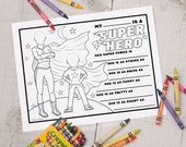 INSTANT DOWNLOAD printable Mother's Day coloring activity sheet great for classroom activity perfect for step mother, grandma, adoptive mom