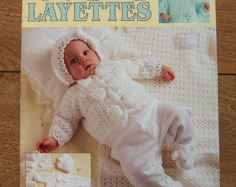 2001 crochet patterns for babies 3 layettes Cuddle Me