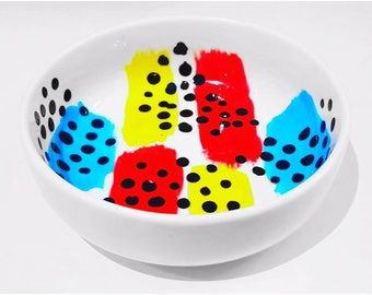 Jelly Bean Unique Hand Painted Trinket Jewellery Dish