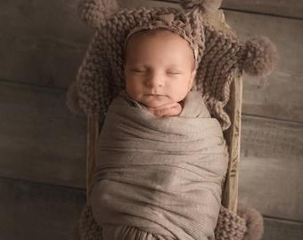 Knitting Pattern, Newborn Blanket Pattern, Knit Pattern Baby Blanket, Pom Pom Blanket Baby Pattern Newborn Blanket Knit Pattern Blanket Baby