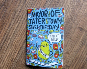 Mayor of Tater Town Minicomic
