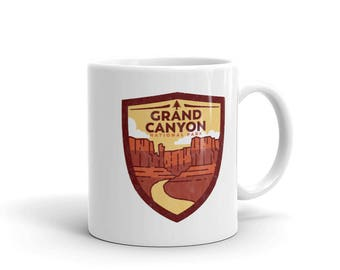 Grand Canyon National PArk Mug made in the USA
