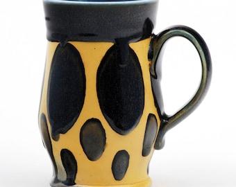Soda Fired Porcelain Mug
