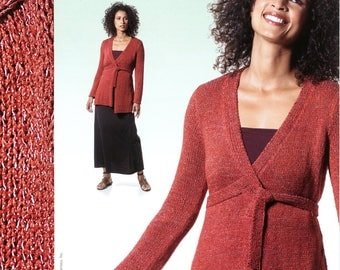Berroco Knitting Pattern Booklet #255 Bonsai - 7 Designs for Women (3 are Easy!)