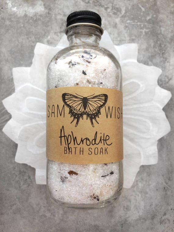 Aphrodite Bath Soak // Organic