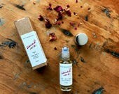 Sainted Rose - limited edition botanical perfume oil with rose otto and palo santo (5 ml glass roller)