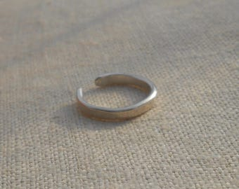 Sterling Silver Pinky Ring, Midi Ring, or Toe Ring