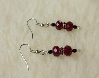 Poppies - Surgical Steel / Niobium / Titanium Hypoallergenic Earrings for Sensitive Ears - Nickel Free by Pretty Sensitive Ears