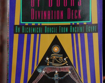 The Book Of Doors Divination Deck Book/Tarot Card Book/Ancient Egypt Oracle