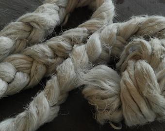 SKYLARK -HEMP Fiber ~Colour by nature~  fiber plant dyed - perfect for vegan needle felting