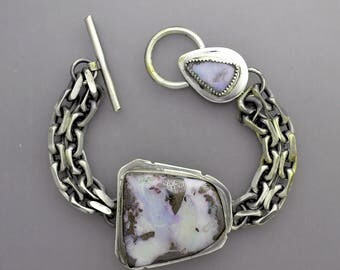 Big Opal Chain Bracelet
