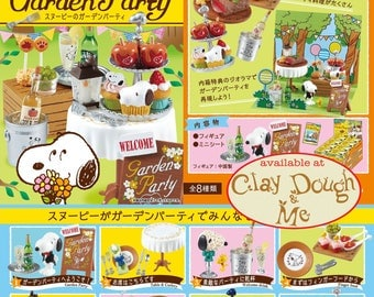AUGUST 2017 Re-ment Peanuts Snoopy Garden Party/Re-ment Snoopy Garden Party/Re-ment Snoopy/Re-ment Miniatures Snoopy Garden Party