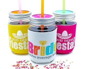 Fiesta, Bachelorette Party, Party Cups, Favors, Nacho Average Fiesta, Matching Bride Cup