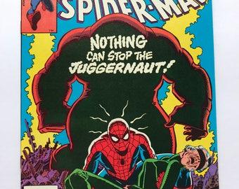Amazing Spider-Man 229 Vs The Juggernaught (1st print, Near Mint, 1982)