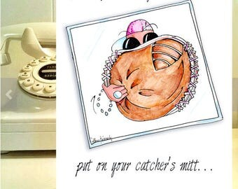 Funny Cancer Cards, Cancer Card for Women, Cancer Support,  Breast Cancer card, Fight Cancer Humor, Breast Cancer support