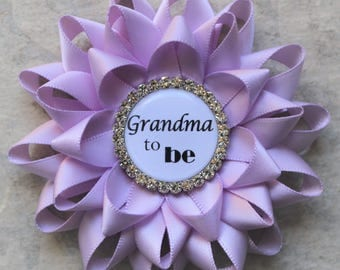Purple Baby Shower, Lavender Baby Shower Decorations, Baby Girl Shower,  Grandma To Be