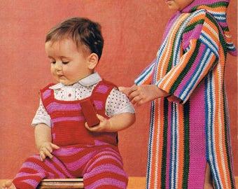 1974 Mon Tricot Baby Knitting & Crochet Magazine