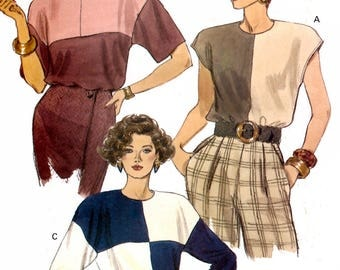 Vogue 8174 Sewing Pattern for Misses' Top - Uncut - Size 8, 10, 12