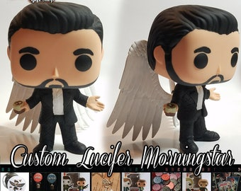 Lucifer Morningstar - Custom Funko pop toy