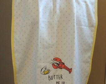 Butter Me Up fun Lobster Fest Clothing Protector - Shirt Saver - Teens - Special Needs - Dignity - hospital adult  bib beach theme