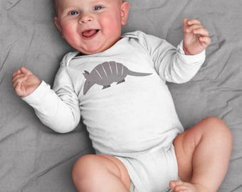 Armadillo baby clothes, Armadillo baby bodysuit, baby boy, baby girl, baby gift