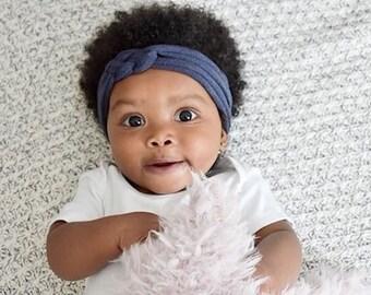 Sailor Knot Headband - Coming Home Headband - Baby Headwrap - Top Knot Headband - No Squeeze Headband - Baby Turban Headband - Baby Headband