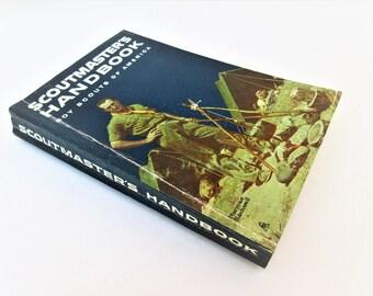 Vintage Boy Scout Books   Scout Master Book   Scouting Books   Scouting Ephemera   Camping