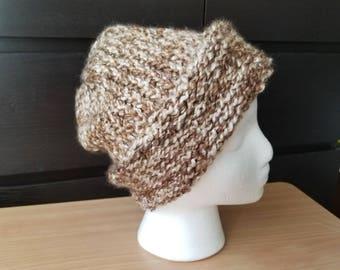 Slouchy Loom Knit Hat