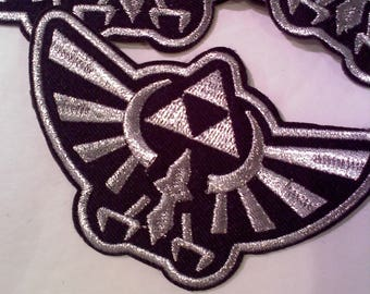 Legend of Zelda Triforce Iron On/Sew On Patch