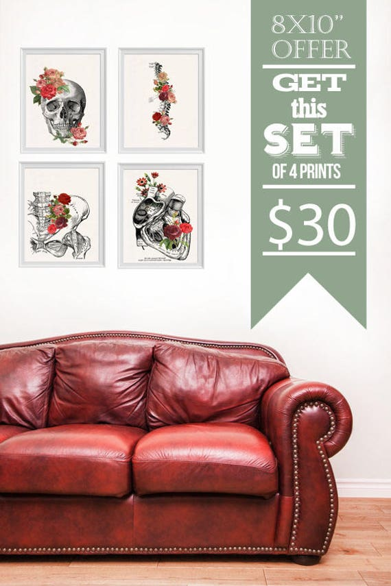 Sale 8x10 sized Prints, Sale wall art, Home decor poster set, Wall art selection, matching prints set promotion  SET007