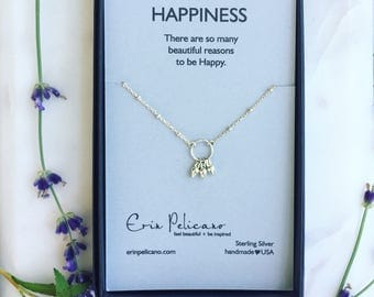 Bridesmaid Gift Inspirational Jewelry Birthday Gift For Her Wedding Party Gifts for Daughter Dainty Jewelry Strength Jewelry Retirement Gift