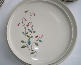 4 Franciscan Winsome Salad Plates, Set of 4