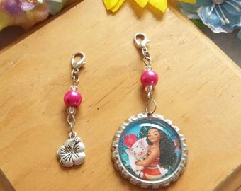 10 Moana Zipper Pulls Party Favors
