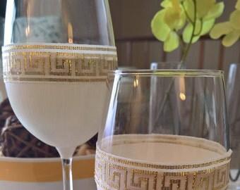 Goddess - Set of 2 Wine Glasses
