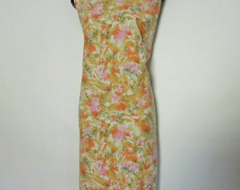 Vintage Asian Inspired Cotton Dress