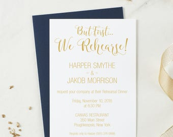 Wedding Rehearsal Dinner Invitations Invites Ceremony