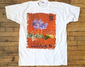 vintage WOODSTOCK 94 shirt - Souvenir Concert - Mint - Size XL