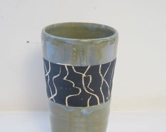 Cup with African-Inspired Design