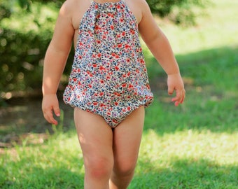 NEW!! Idyllwilde Collection, Boho Baby, Baby Romper, Girls Romper, Halter, Halter Top Romper, Floral Romper, Floral Printed, Toddler Fashion