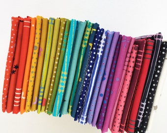 Chroma Handcrafted Bundle by Alison Glass for Andover Fabrics, COMPLETE