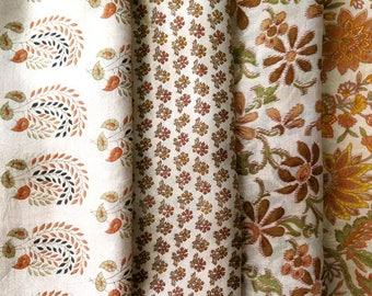 Fat Quarters, Silk Fabric, Sari Silk, FQ 189