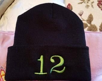 12 fan hat