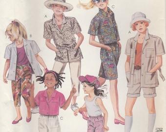 Girls' Summer Wardrobe Pattern McCalls 2991 Size 14 Uncut