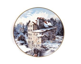 Vintage Elora Mill Keirstead Gallery Famous Mills 2nd Collector Series Limited Edition 1988