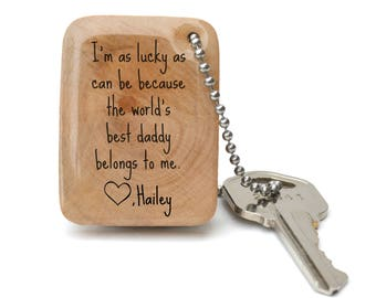 personalized gift for dad keychain personalized dad gift personalized dad keychain father's day gift mens keychain