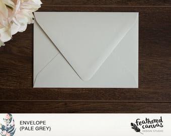 Pale Grey Envelopes