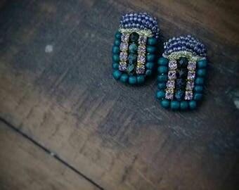 bar earrings, rectangular earrings, jewelry, stud earrings, small earrings, simple jewelry, boho earrings, modern bohemian,summer, fashion