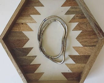 Vintage Adjustable Silver Necklace