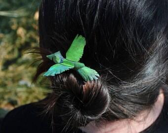 Forest Momi Bird Hair Stick